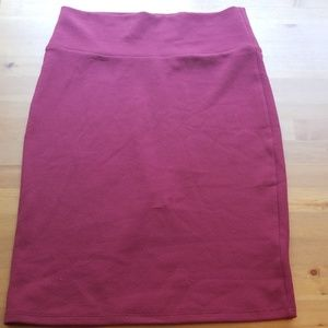 NWOT Lularoe pencil skirt